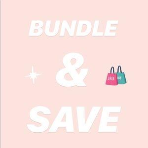 Other - MAKE A BUNDLE & SAVE !